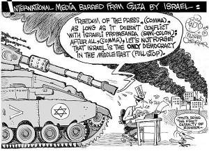Giornalisti nel mirino di Israele e Anp