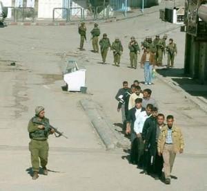 Campagna di arresti israeliani in Cisgiordania