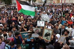 'Stop ai negoziati, sì alle libertà'. Manifestazione a Hebron
