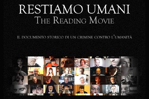 'Restiamo umani' diventa un film