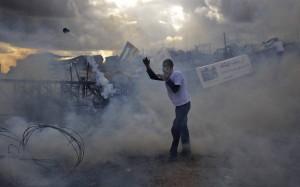 Manifestazioni non-violente represse ovunque in Cisgiordania