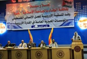 Al-Wafaa: progetti di beneficenza a Gaza per 5milioni di euro