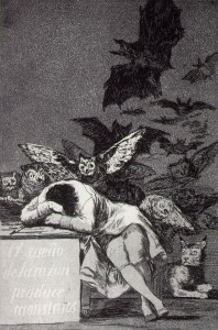 Il Sonno della Ragione genera conflitti e morti