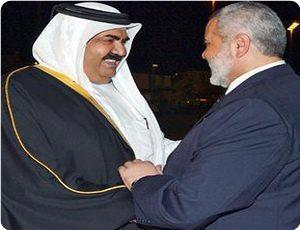 Haniyah in Qatar discute di progressi palestinesi con l'Emiro