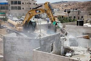 Onu: 25 edifici palestinesi distrutti in una settimana