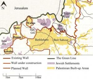 Amnesty International: Il Muro di separazione in Cisgiordania viola il diritto internazionale