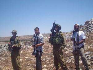 Ex base militare israeliana consegnata ai coloni