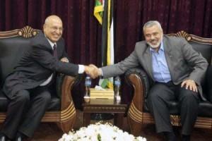 Delegazione di Fatah in visita nella Striscia di Gaza