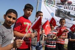 Gaza ricorda i martiri della Mavi Marmara