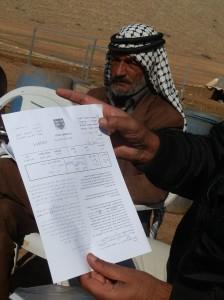35 famiglie palestinesi costrette a sfollare nella Valle del Giordano