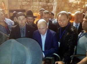 Fondazione Al-Aqsa deplora la visita di Putin a Gerusalemme sotto scorta israeliana