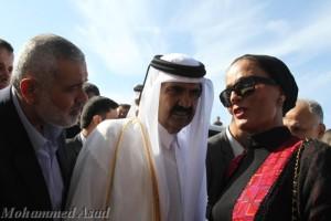 L'Emiro del Qatar visita Gaza, tra progetti di ricostruzione e strategie