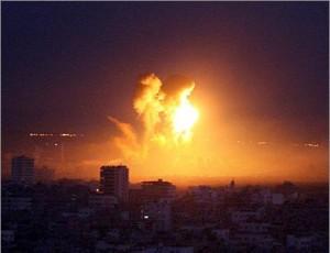 Bombardamenti contro la Striscia di Gaza