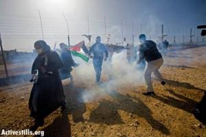 Cisgiordania, l'esercito israeliano reprime con violenza proteste pacifiche