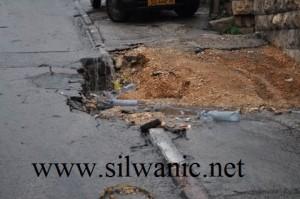 Scavi israeliani, crollano strade a Silwan