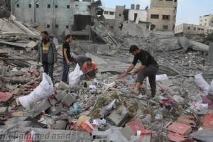 Governo di Gaza: 1.245 miliardi di dollari, i danni causati dall'aggressione israeliana