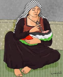 Le chiavi della Palestina, di madre in figlio…
