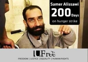 Samer Issawi trasferito in ospedale
