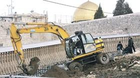 Piano israeliano per collegare il quartiere ebraico con il Muro del Pianto