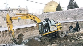 scavi buraq