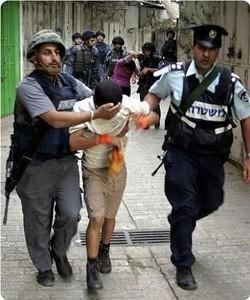 Gerusalemme, le forze israeliane arrestano bambino di 11 anni