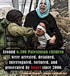 Rapporto dell'UNICEF sui bambini palestinesi detenuti