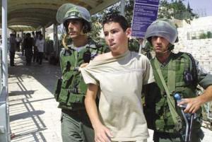 Rapporto: 33 bambini palestinesi arrestati in due mesi