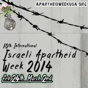 Settimana contro l'Apartheid israeliano
