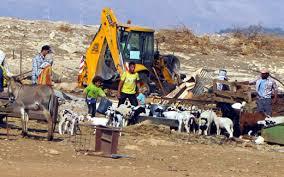 Israele ha demolito 27 case nella valle del Giordano nel mese di gennaio