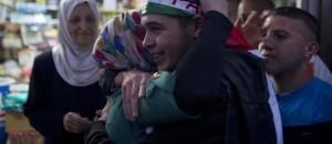 Celebrazioni per la liberazione di diversi prigionieri palestinesi
