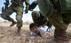 120 i bambini imprigionati da Israele dall'inizio dell'anno
