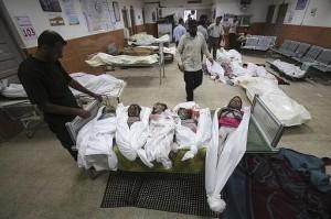 Striscia di Gaza, venerdì di sangue: 100 morti. Il totale sale a 1600. Quasi 9000 i feriti