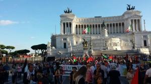 Manifestazione nazionale a Roma per il sostegno al popolo palestinese