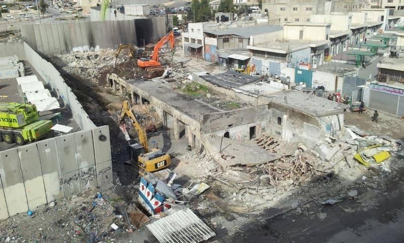 A febbraio Israele ha confiscato 120 ettari e ha demolito 10 abitazioni