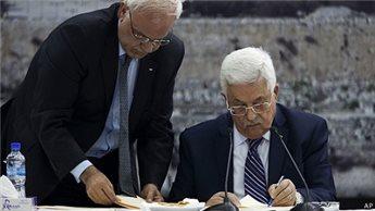 Abbas firma la richiesta di adesione alla Corte criminale internazionale