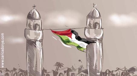 Nella lotta contro l'apartheid, i cristiani palestinesi sfidano la propaganda israeliana