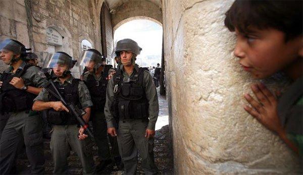 Nel 2014, Israele ha imprigionato 1.266 bambini palestinesi