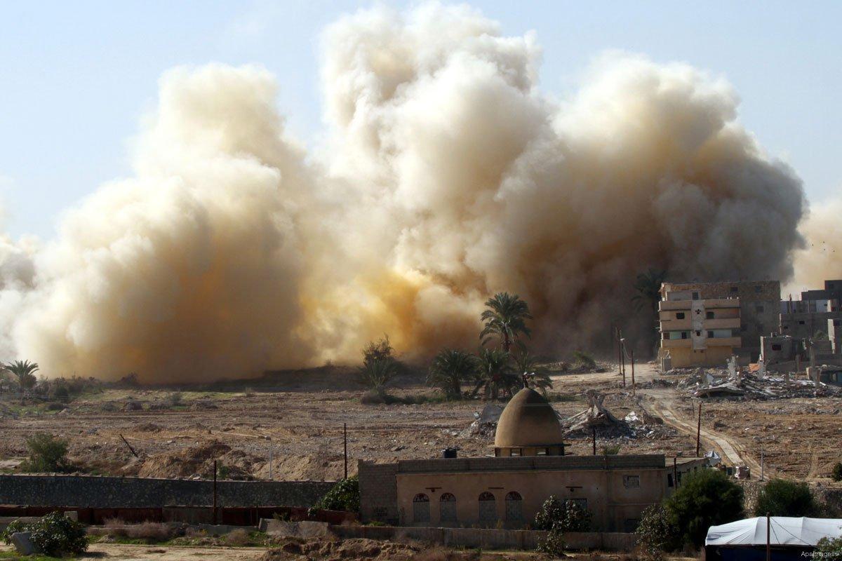 """L'Egitto amplierà la """"buffer zone"""" con la Striscia di Gaza"""