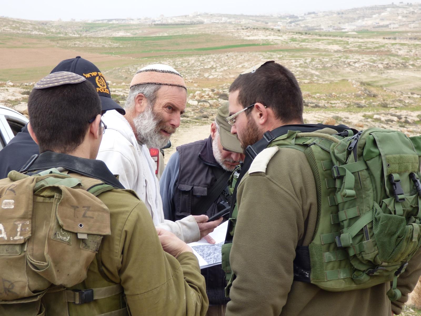 """Pastore palestinese detenuto dalla polizia israeliana"""""""