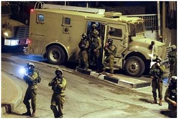 Campagna di incursioni delle forze israeliane a Gerusalemme e Cisgiordania: 27 palestinesi sequestrati