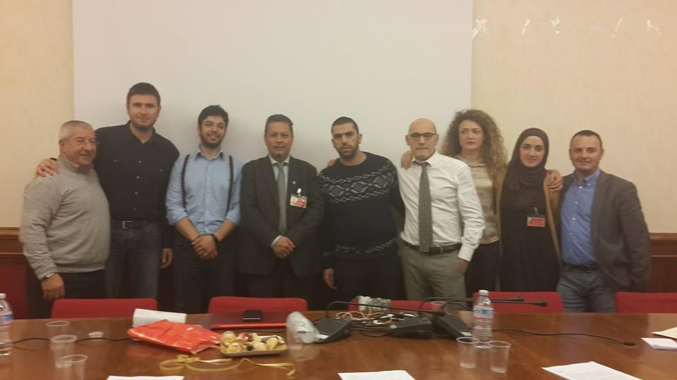 Delegazione palestinese ricevuta dai deputati del M5S in Parlamento