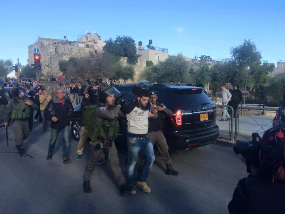 Giornata della Terra a Gerusalemme: marcia aggredita dalle forze di occupazione