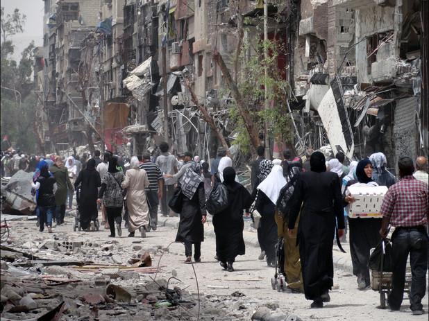 Yarmouk e il disastro in corso. L'intervista