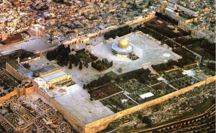A febbraio, 1944 coloni hanno invaso il complesso di al-Aqsa, a Gerusalemme