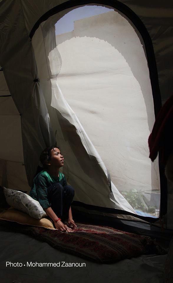 Basma e l'attesa infinita in una tenda di Gaza