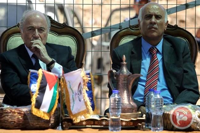 I palestinesi rifiutano di fare marcia indietro sul voto della FIFA su Israele