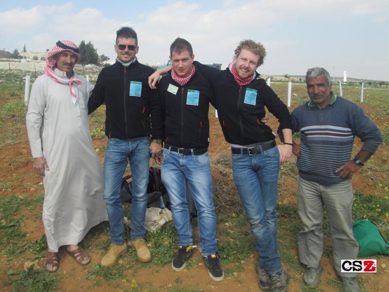 "Progetto ""Olive re-planting 2015"": una scuola italiana a Betlemme"