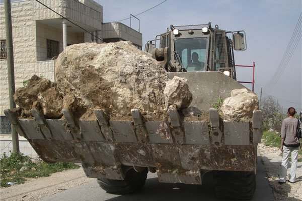 israeli-bull-dozer