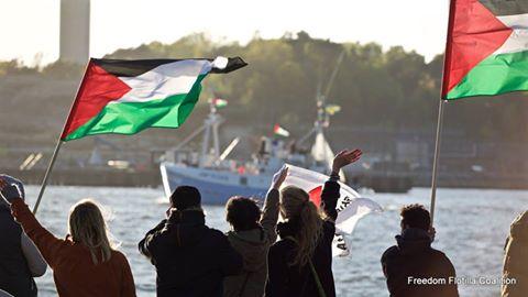 La Freedom Flotilla 3 in viaggio verso la Striscia Gaza sotto assedio