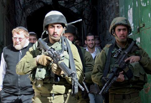 In sei mesi arrestati 550 Palestinesi di Hebron
